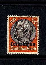 Buy GERMANY REICH Besetzung [Lothringen] MiNr 0016 ( O/used )