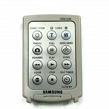 Buy Genuine Samsung Camcorder Remote Control CRM-D4E Tested Working