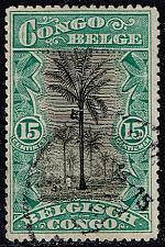 Buy Belgian Congo #48 Climbing Oil Palms; Used (3Stars) |BCO048-03XRS