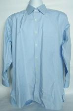 Buy Charles Tyrwhitt Men's Classic Dress Shirt 16 1/2 42 Blue Plaid Long Sleeve