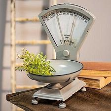 Buy Decorative Farmhouse Style Kitchen Scale Calendar Vintage Rustic Countertop New
