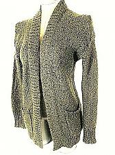 Buy Express womens Small Taupe Sequins 2 Pocket Cardigan Sweater (B)