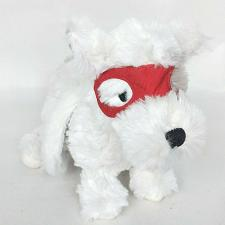 Buy Aden Anais Winged Puppy Dog with Red Mask Gray White Plush 11.5""