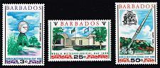 Buy Barbados #303-305 World Meteorological Day Set; MNH (4Stars) |BAR0305set-01