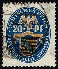 Buy Germany #B14 Arms of Saxony; Used (2Stars) |DEUB0014-01XRP