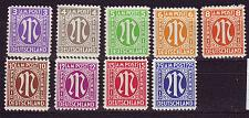 Buy GERMANY Alliiert AmBri [1945] MiNr 0001-09 ( **/mnh )