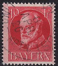 Buy GERMANY Bayern Bavaria [1916] MiNr 0114 A ( O/used )