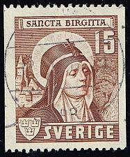 Buy Sweden #327 St. Bridget; Used (0.25) (3Stars) |SVE0327-02XRS