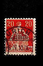 Buy SCHWEIZ SWITZERLAND [1908] MiNr 0102 ( O/used )