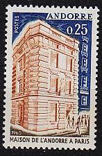 Buy ANDORRA FRANZÖSISCH [1965] MiNr 0194 ( **/mnh )