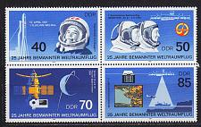 Buy GERMANY DDR [1986] MiNr 3005-08 4er ( **/mnh ) Weltraum