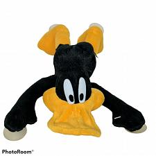 """Buy Vtg Looney Tunes Daffy Duck ACE Suction Cup Plush Stuffed Animal 1998 11"""""""