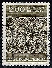 Buy Denmark #677 Tonder Lace Patterns; Used (3Stars) |DEN0677-01XBC