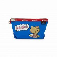 Buy New LeSportsac x Hello Kitty Sloan Cosmetic Bag Aloha Free Shipping