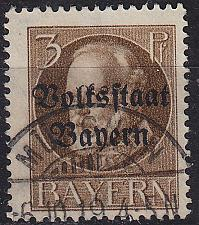 Buy GERMANY Bayern Bavaria [1919] MiNr 0116 A ( O/used )