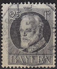 Buy GERMANY Bayern Bavaria [1916] MiNr 0098 II A ( O/used )