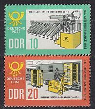 Buy GERMANY DDR [1963] MiNr 0998-99 ( **/mnh ) Post