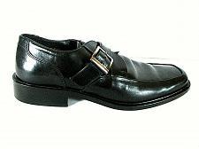 Buy Johnston Murphy Black Leather Monk Strap Dress Loafers Shoes Men's 10 M (SM2)