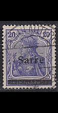Buy GERMANY Saar [1920] MiNr 0008 III ( O/used )