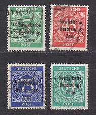 Buy GERMANY Alliiert SBZ [Allgemein] MiNr 0207 ex ( O/used ) [02]