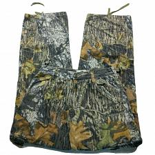 Buy Mossy Oak Apparel Camo Camouflage Hunting Straight Jeans Size Small