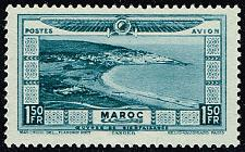 Buy French Morocco #CB7 Aerial View of Tangier; Unused (3Stars) |FRMCB07-01XRP