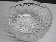Buy Waterford crystal Signed bowl cut glass Ireland