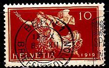 Buy SCHWEIZ SWITZERLAND [1919] MiNr 0147 ( O/used )