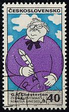 Buy Czechoslovakia #1629 Gilbert K. Chesterton; CTO (0.25) (4Stars) |CZE1629-01