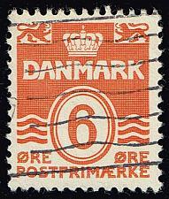Buy Denmark #224C Numeral; Used (3Stars) |DEN0224C-02XRS