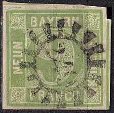 Buy GERMANY Bayern Bavaria [1850] MiNr 0005 III d ( O/used ) [03]