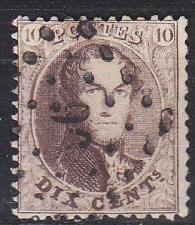 Buy BELGIEN BELGIUM [1863] MiNr 0011 B ( O/used )