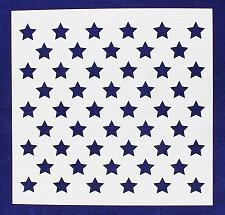 "Buy 50 Star Field Stencil 14 Mil -14 1/8""W x 14 1/14""W - Painting /Crafts/ Template"