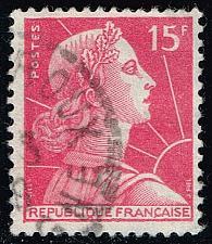 Buy France #753 Marianne; Used (2Stars) |FRA0753-09