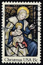 Buy US #1842 Madonna & Child; Used (0.25) (2Stars) |USA1842-12
