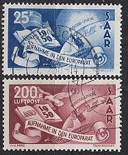 Buy GERMANY Saar [1950] MiNr 0297-98 ( O/used ) [01]