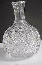 Buy ABP cut glass carafe strawberry diamond fan American brilliant C8