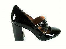 Buy Calvin Klein Black Patent Leather Mary Jane Pumps Heels Shoes Women's 6 (SW17)