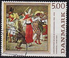 Buy DÄNEMARK DANMARK [1984] MiNr 0819 ( O/used ) Gemälde