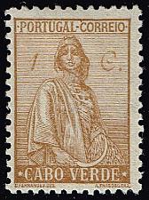 Buy Cape Verde #215 Ceres; Unused (2Stars) |CPV0215-03XRS