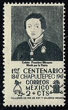 Buy Mexico #830 Cadet Francisco Marquez; Unused (0.45) (2Stars) |MEX0830-03XRS