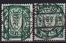 Buy GERMANY REICH Danzig [1924] MiNr 0194 x,y ( OO/used ) [01]