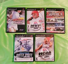 Buy LOT OF 5 SONY PLAYSTATION 2 SPORTS GAMES ORIGINAL CASES LOW BID