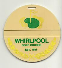 Buy Whirlpool Golf Course Club Niagara Parks Comm Ontario Canada Golf Bag Tag Fob