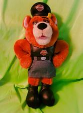 Buy Harley Davidson Biker Chick Stuffed Bear in Vest, Skirt & Boots 13 Inch Length
