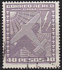 Buy CHILE [1934] MiNr 0218 ( O/used ) Flugzeuge
