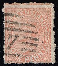 Buy Australia-Queensland #66 Queen Victoria; Used (1.10) (2Stars) |QUE066-04