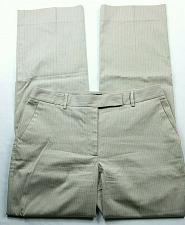 Buy Talbots Women's Dress Pants Size 6 Heritage Fit Beige Pin Striped