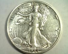 Buy 1944-D WALKING LIBERTY HALF ABOUT UNCIRCULATED+ AU+ NICE ORIGINAL COIN BOBS COIN