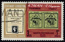 Buy Ajman #43 Geneva Stamp; CTO (4Stars)  AJM0043-02XRS